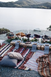 home accessory,rug,pillow,boho,travel,stripes,dinnerware,weekend escape,hipster wedding,beach wedding