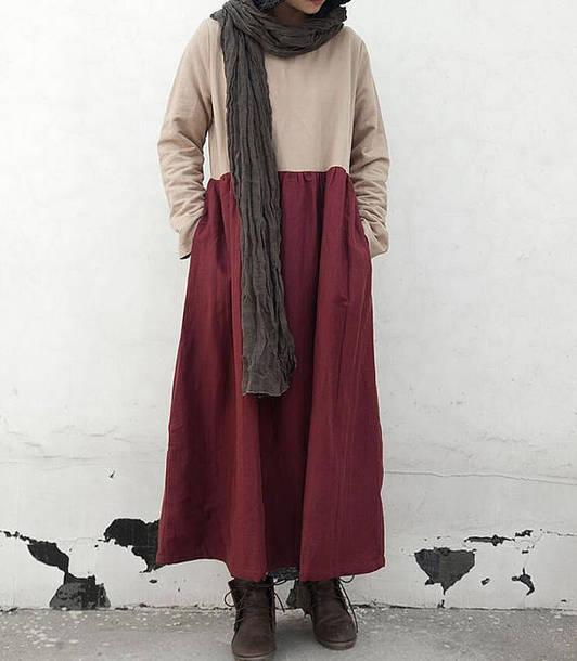 dress plus velvet robe maxi dress