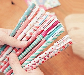 home accessory pencils cute girly back to school