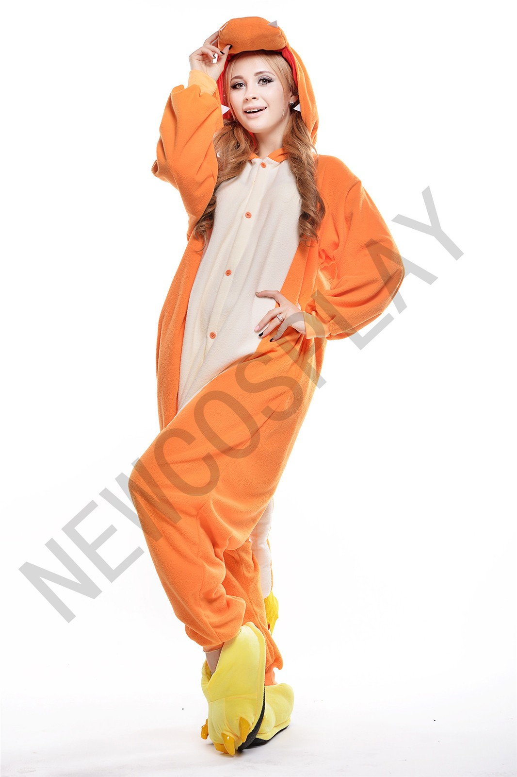 FIRE DRAGON by NEWCOSPLAY ONESIE