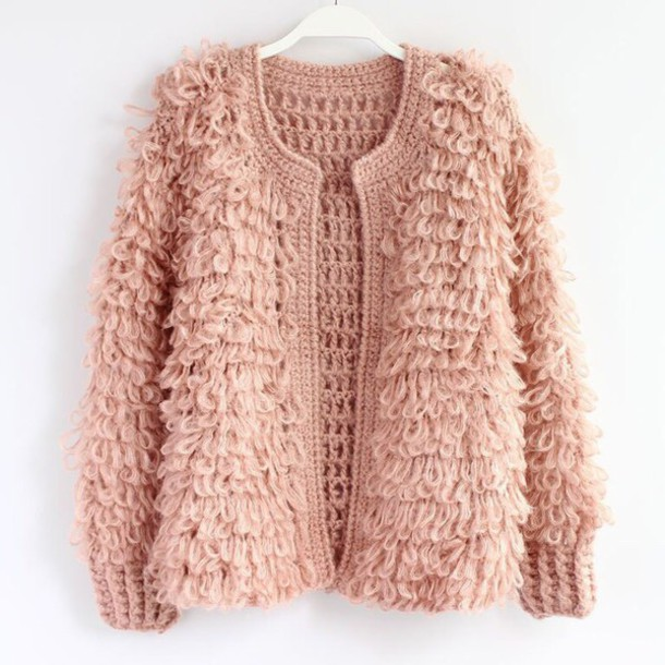 cardigan pink pink coat