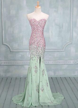 dress prom dress long prom dress 2014 prom dresses mermaid prom dresses sequin prom dresses pink prom dress prom gems gems purple