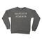 Masculin féminin sweatshirt - grey & creme