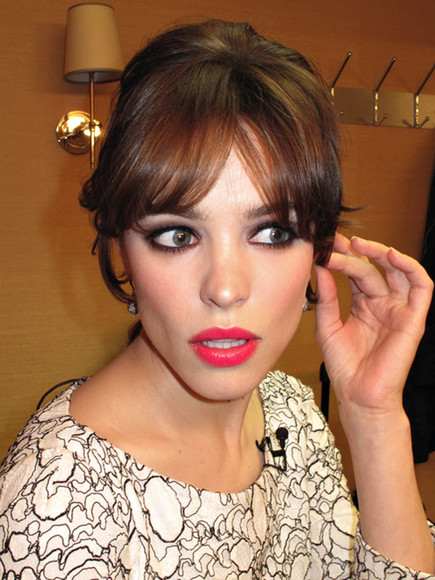 rachel mc adams make-up lipstick