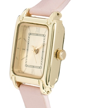 Pink | ASOS Vintage Style Pink Watch at ASOS
