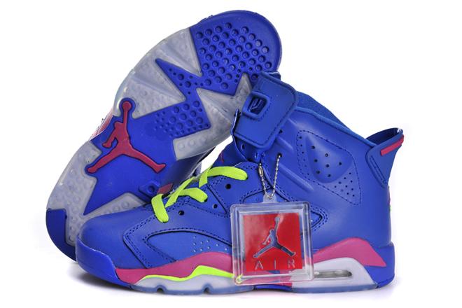 Air Jordan Blue And Pink