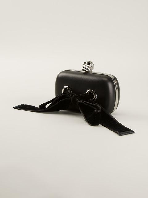 Alexander mcqueen 'skull' box clutch