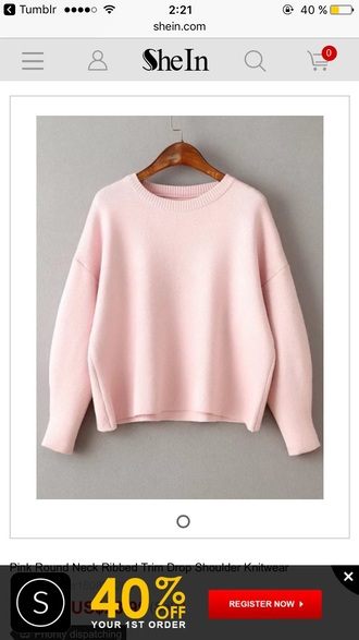 sweater pink sweater sweater dress pale pink sweater