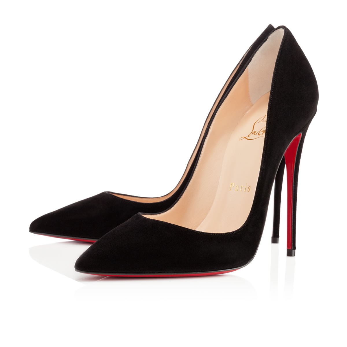 So Kate 120 Black Suede - Women Shoes - Christian Louboutin