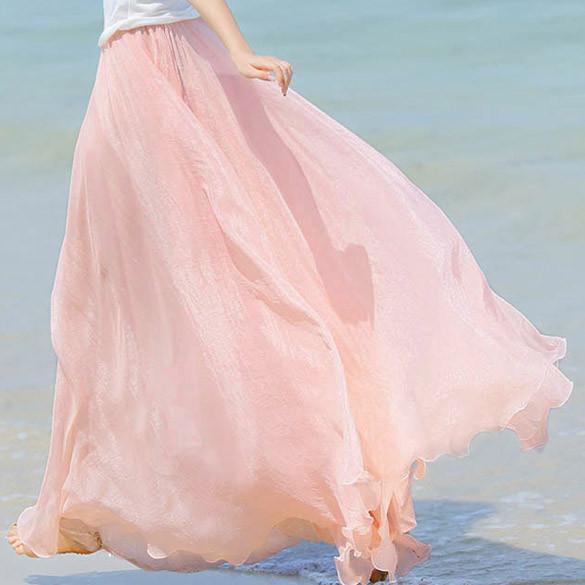 Hemian Maxi Skirt   Outfit Made