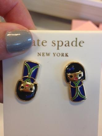 jewels earrings kate spade harajuku
