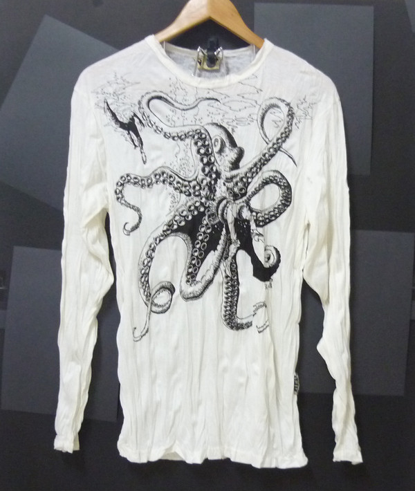 sweater squid octopus sea animal women shirt men tshirt men tees men t shirt long sleeves sweater