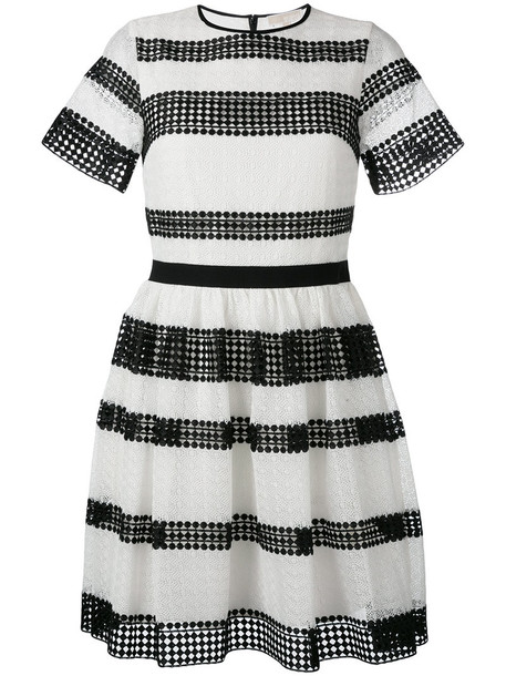 MICHAEL Michael Kors dress pleated dress pleated women cotton black