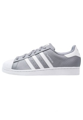 adidas Originals SUPERSTAR - Trainers - grey/white - Zalando.co.uk