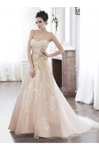 dress wedding dress fashion