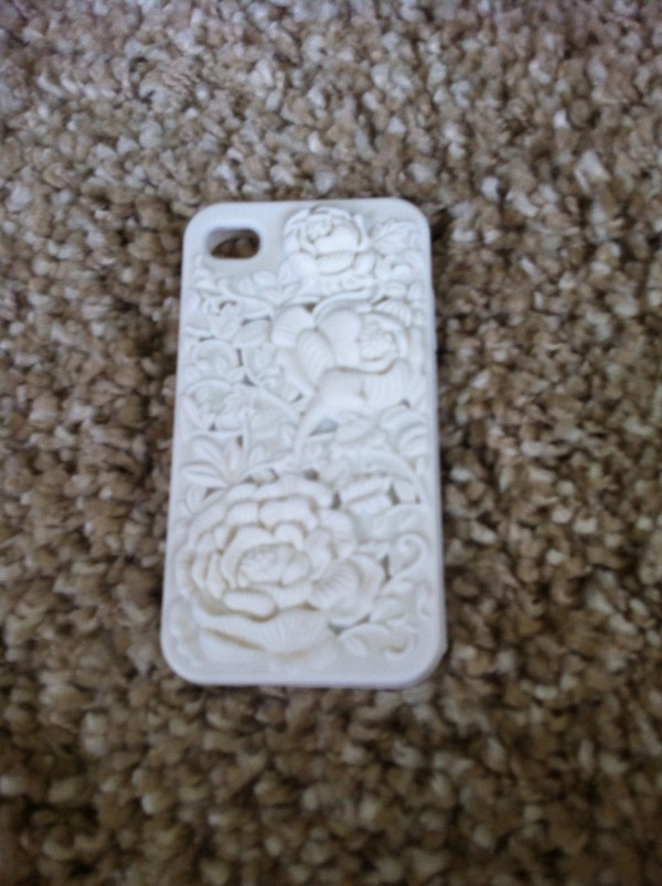 phone cover flowers white phone cover