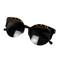 Leopard print retro cat-eyed sunglasses – dream closet couture