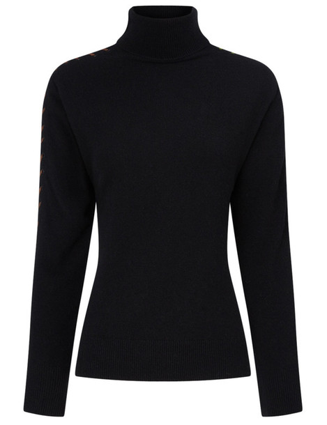 PREEN BY THORNTON BREGAZZI jumper turtleneck black