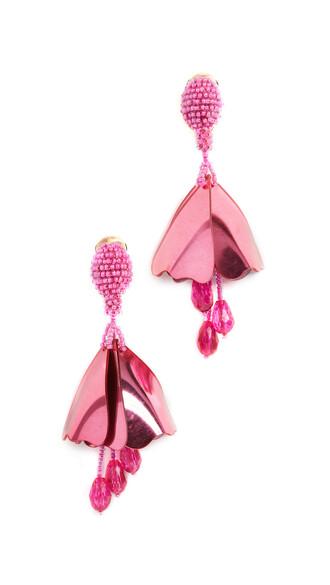 earrings hot pink hot pink jewels