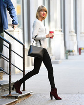 sweater,taylor swift,fall outfits,boots