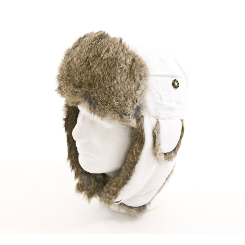 Amazon.com: mad bomber supplex bomber hat with brown fur: sports & outdoors