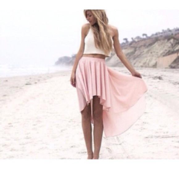 boho skirt girly outfit trending beach