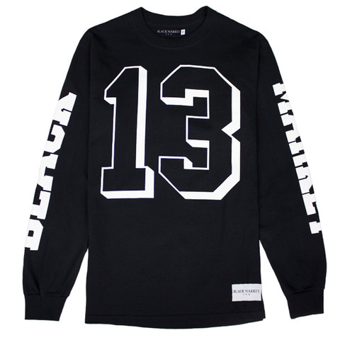 Black market usa x 36 sense casket club jersey (black)