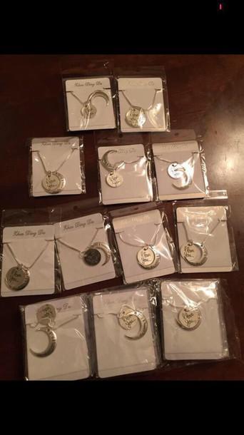 jewels necklace sliver necklace