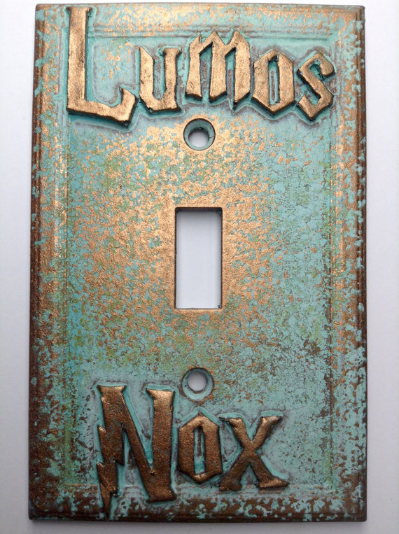 Lumos/Nox Harry Potter - Light Switch Cover