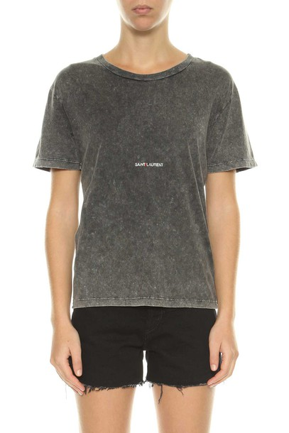 Saint Laurent t-shirt shirt printed t-shirt t-shirt top