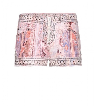 shorts isabel marant rosa help me pls