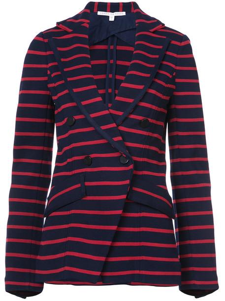 Veronica Beard blazer women spandex red jacket
