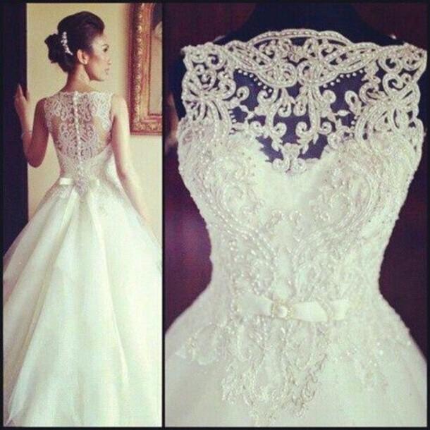 Dress Wedding Clothes A Line Dresses White Long Debutante