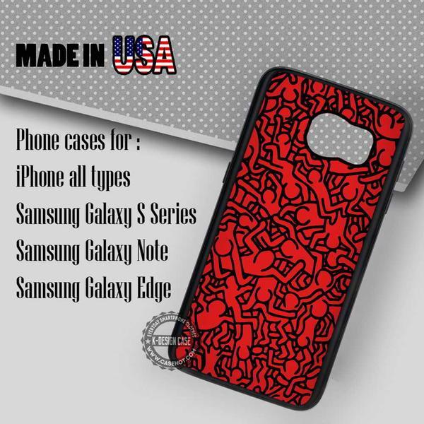 Samsung S7 Case - Keith Haring- iPhone Case #SamsungS7Case #art #yn