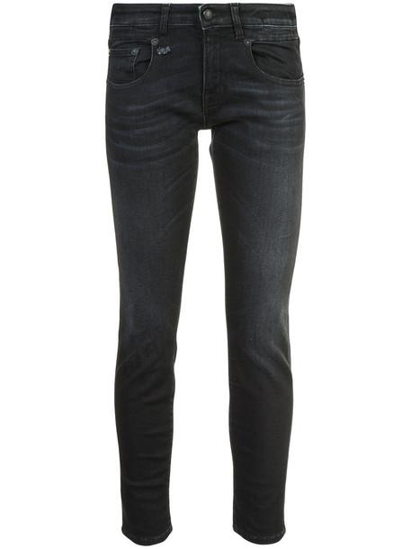 jeans women spandex cotton black
