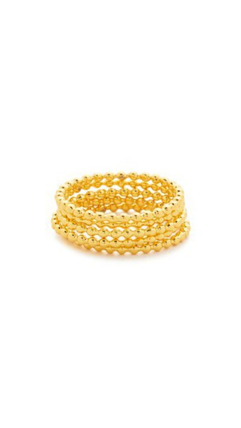 Gorjana Joplin Ring Set - Gold