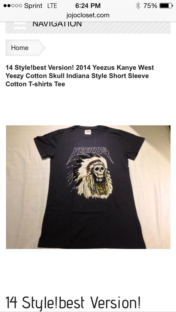 blouse tahiti yeezus t-shirt ysl