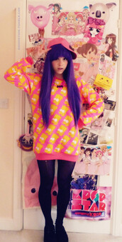 sweater,pink,the simpsons,bart simpson,pull,print,trendy,winter outfits