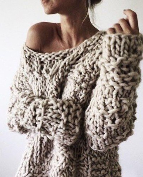 sweater chunky knit