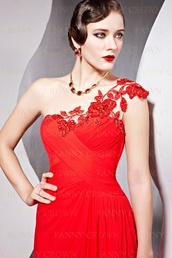 dress,prom,red,maxi,lace,ruched