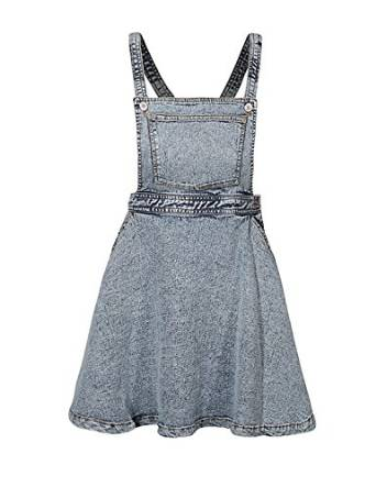 haoduoyi Women's Spaghetti Strap Denim Dress at Amazon Women's Clothing store: