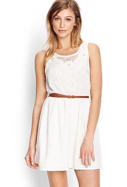 5f88172d339 simple white sundress