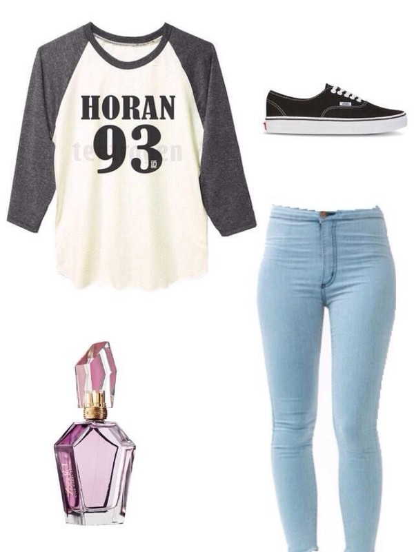 jeans light blue horan niall horan
