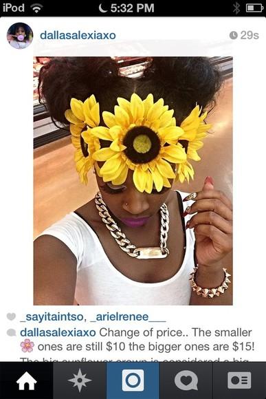 floral headband hat