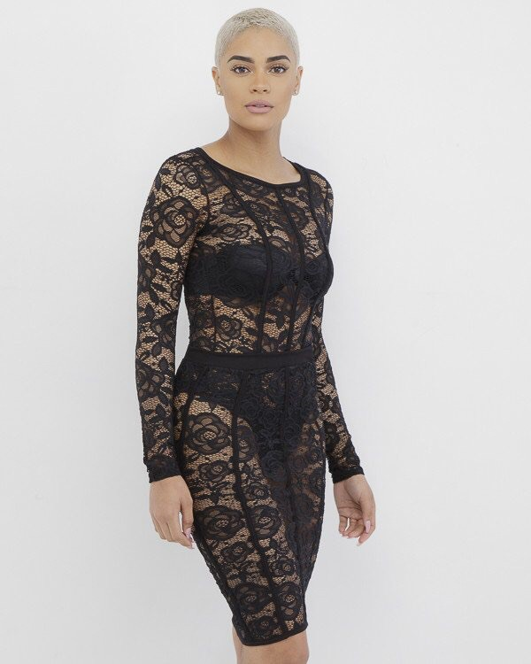 dress cute lace outfit cute skirt lace outfit mini skirt black black lace dress see through dress