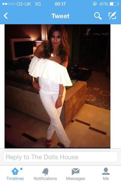 dress white jumpsuit jumpsuit