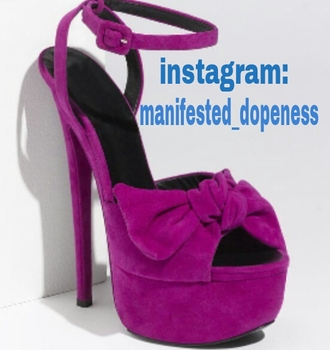 shoes platform shoes platform high heels purple shoes bow peep toe