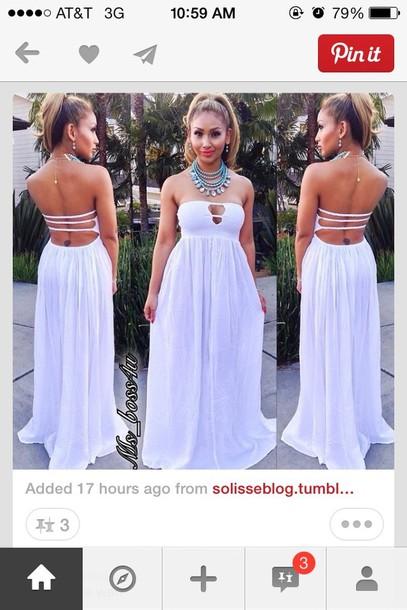 835747d7721 dress long dress white dress white maxi dress maxi dress dress summer dress  sexy dress