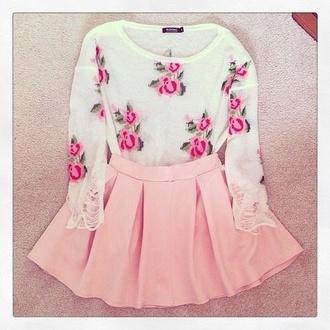 blouse floral