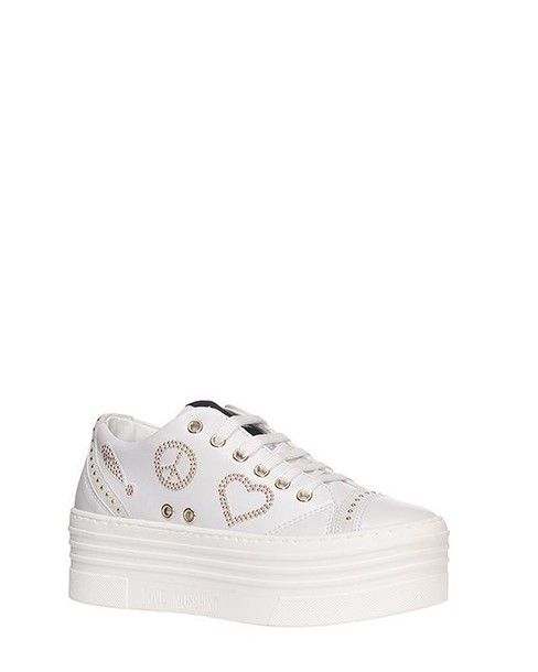 Moschino leather shoes